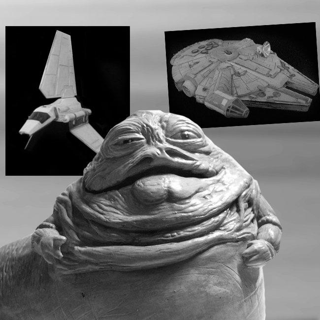Jabba el Hutt de Star Wars